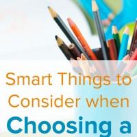 Smart Things to Consider when Choosing a Preschool