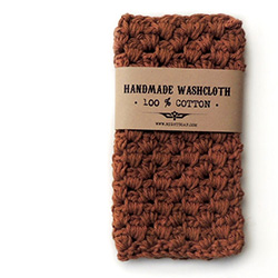 Father's Day gift idea: Handmade cotton washcloth