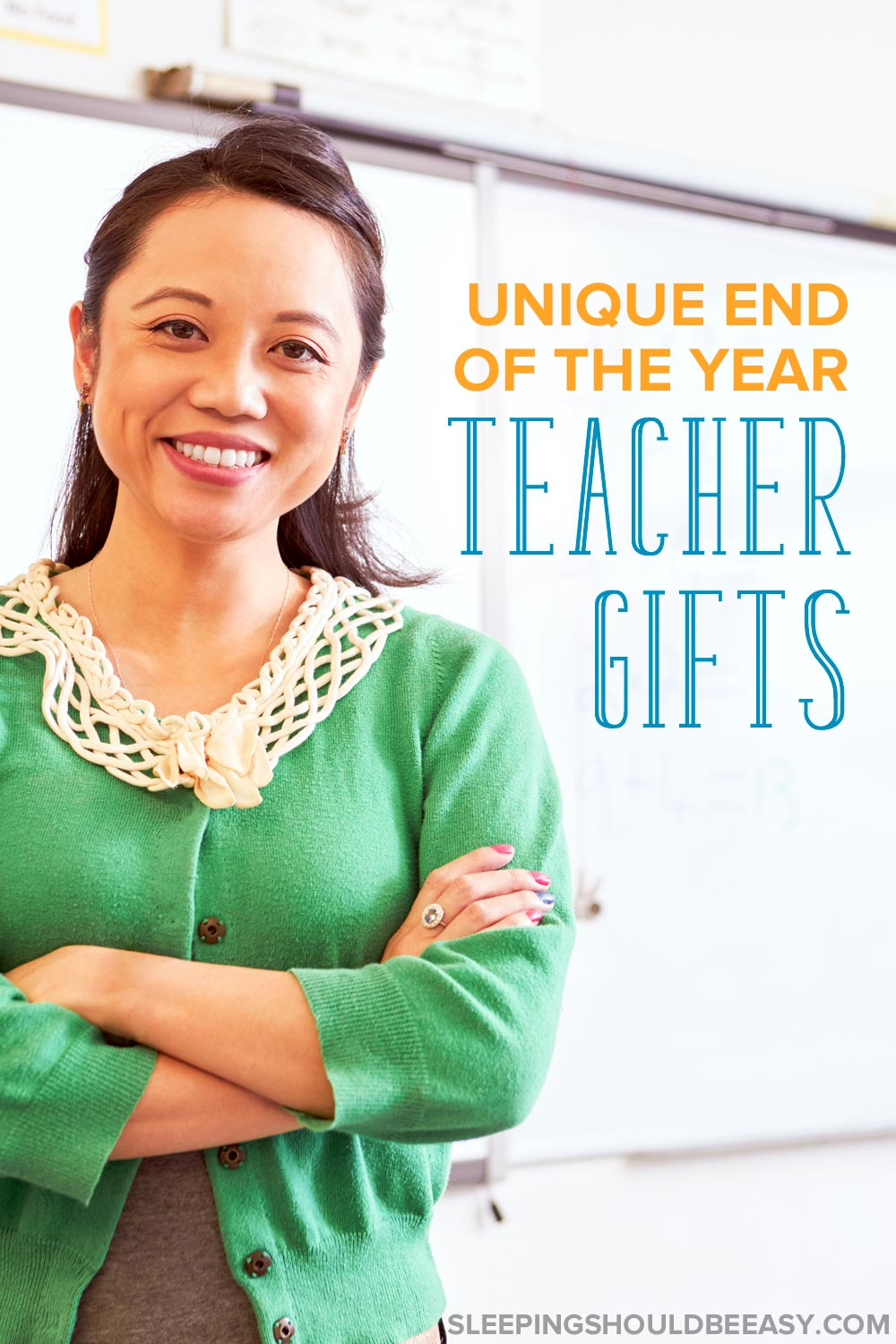 Smiling teacher: End of the year teacher gifts