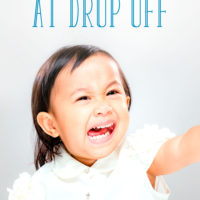What to Do when Your Child Cries at Drop Off
