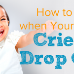 How to Cope when Your Child Cries at Drop Off