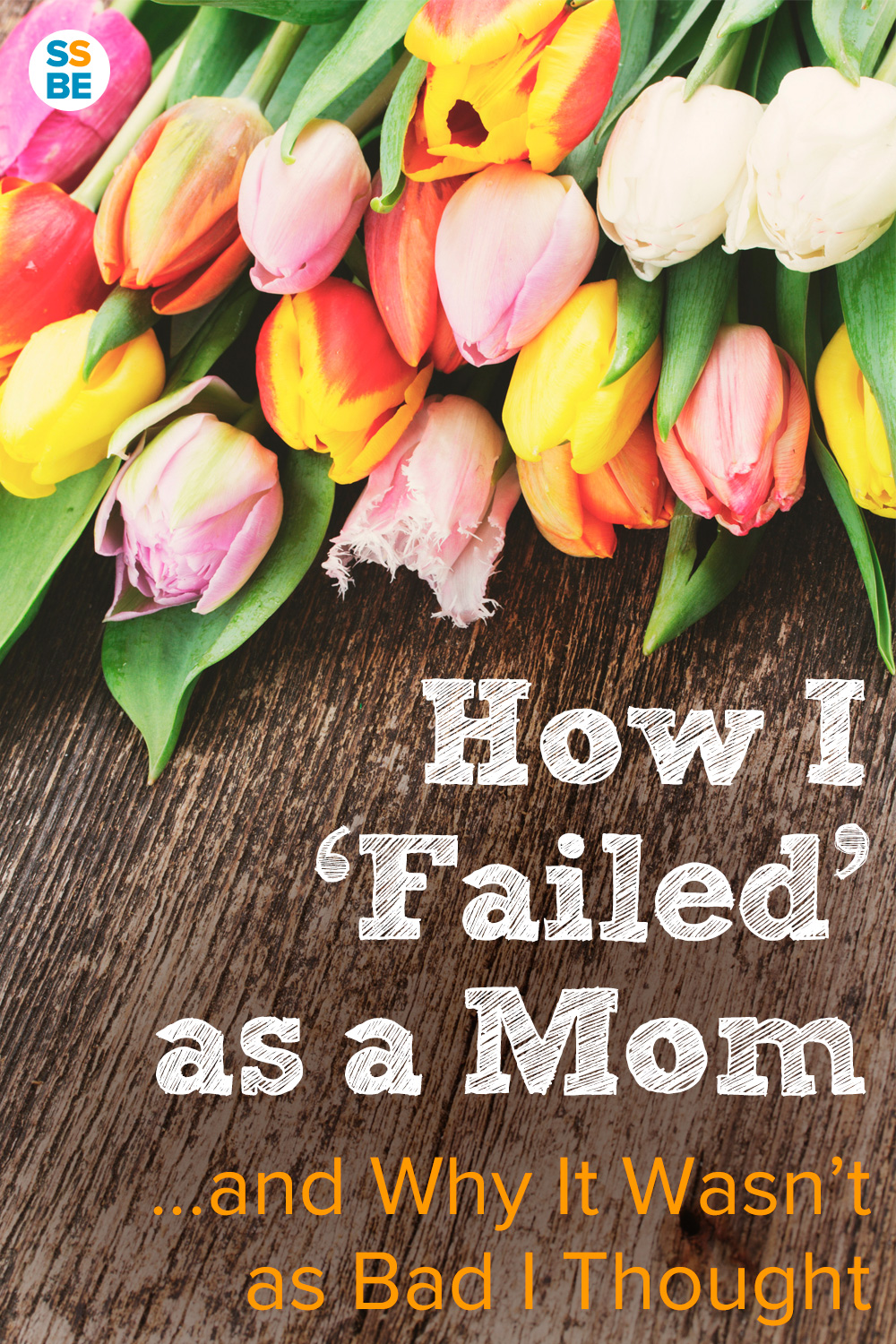 Do you stress out when you're feeling like a bad mother? Here's my story of how I felt terrible, then realized it's not as bad as I thought.