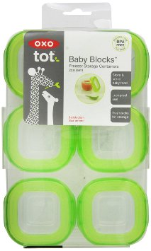 Oxo baby food containers