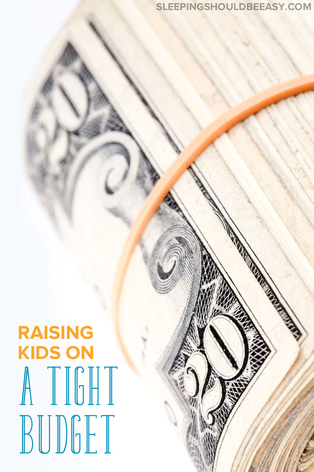 Learning how to raise a family on a tight budget is tough. What do you do when money is tight and you have a family to care for? Read how we're raising children on a tight budget while still enjoying life.