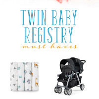 Twin Baby Registry Must-Haves