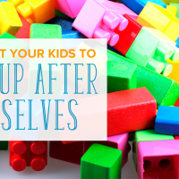 How to Get Your Kids to Clean Up After Themselves