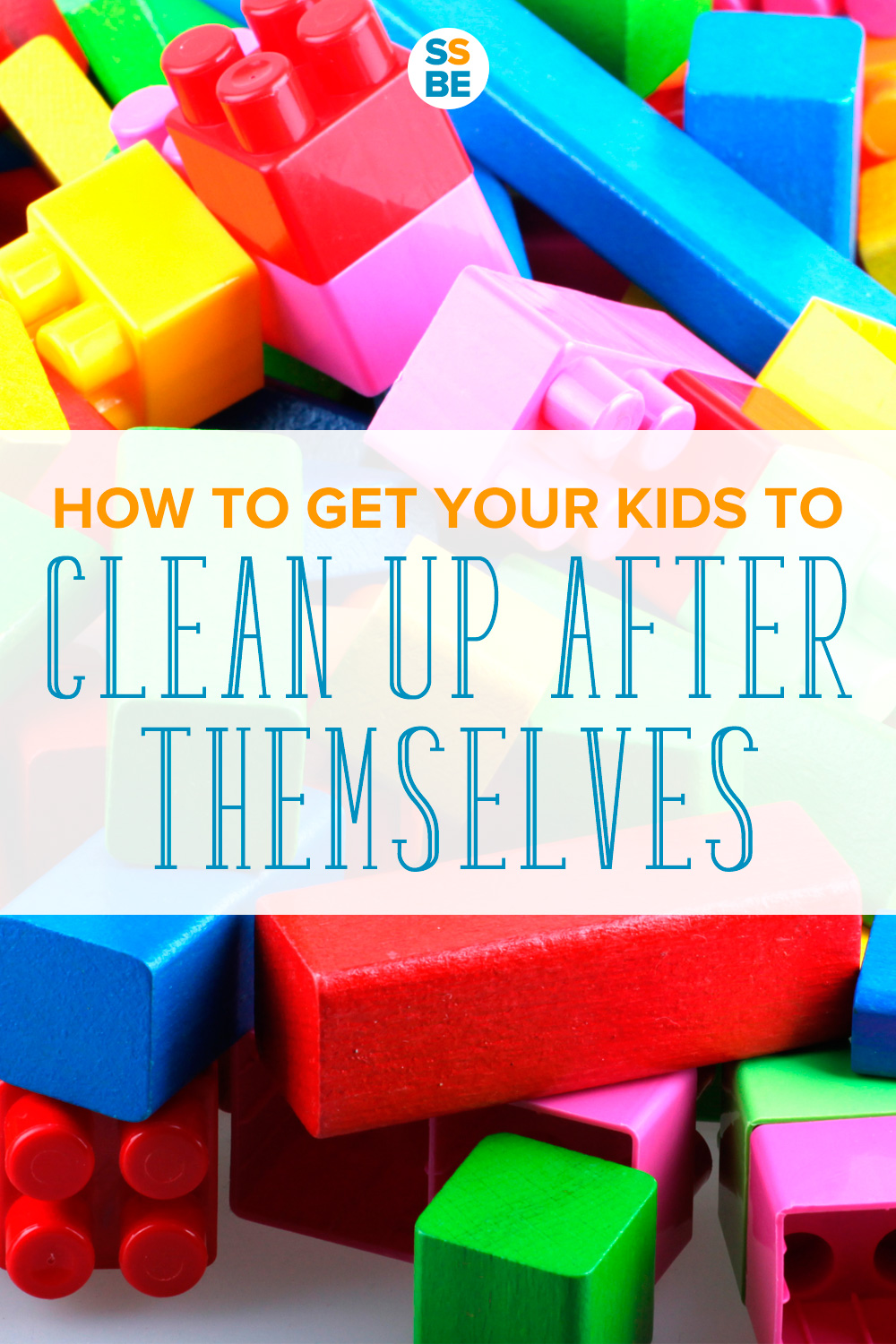 Tired of picking up your kids' toys and items at the end of the day? Here's how to get your kids to clean up after themselves without nagging or yelling.
