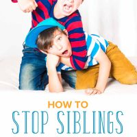 How to Stop Siblings from Fighting and Teach Conflict Resolution Instead