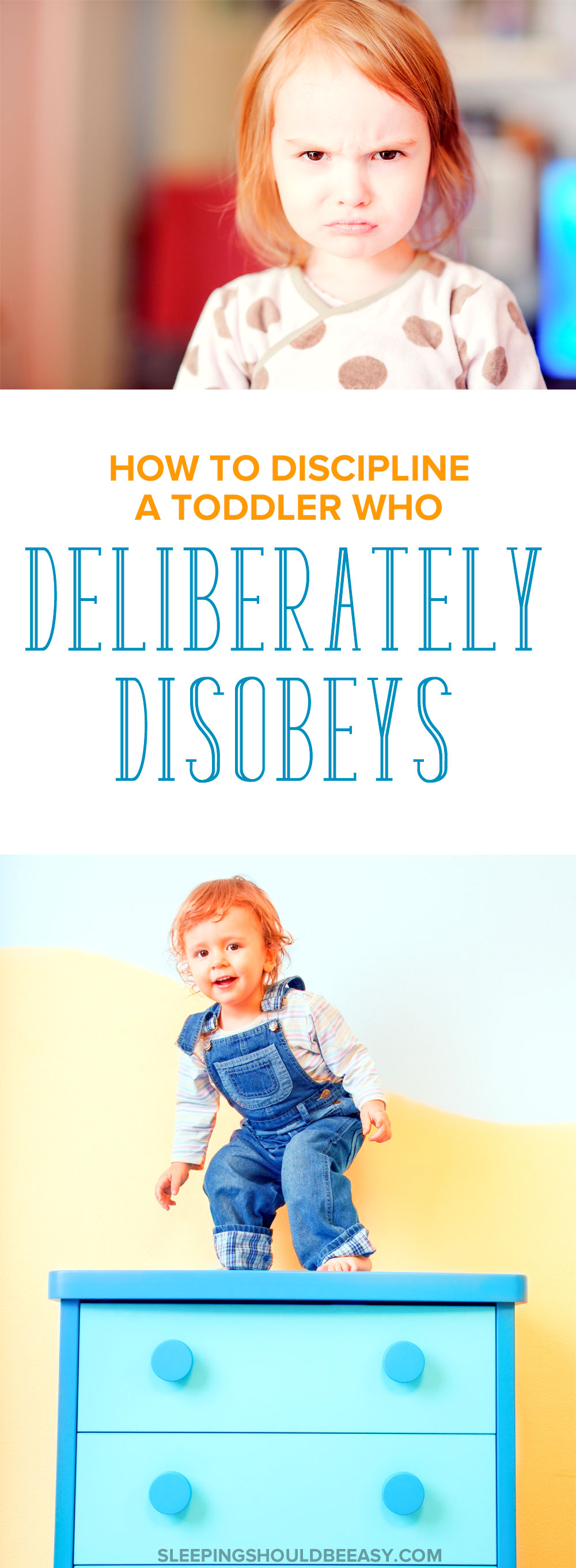 What do you do when your toddler disobeys on purpose? Learn how to discipline a defiant child who doesn't listen using positive parenting.