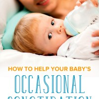How to Help Your Baby's Occasional Constipation