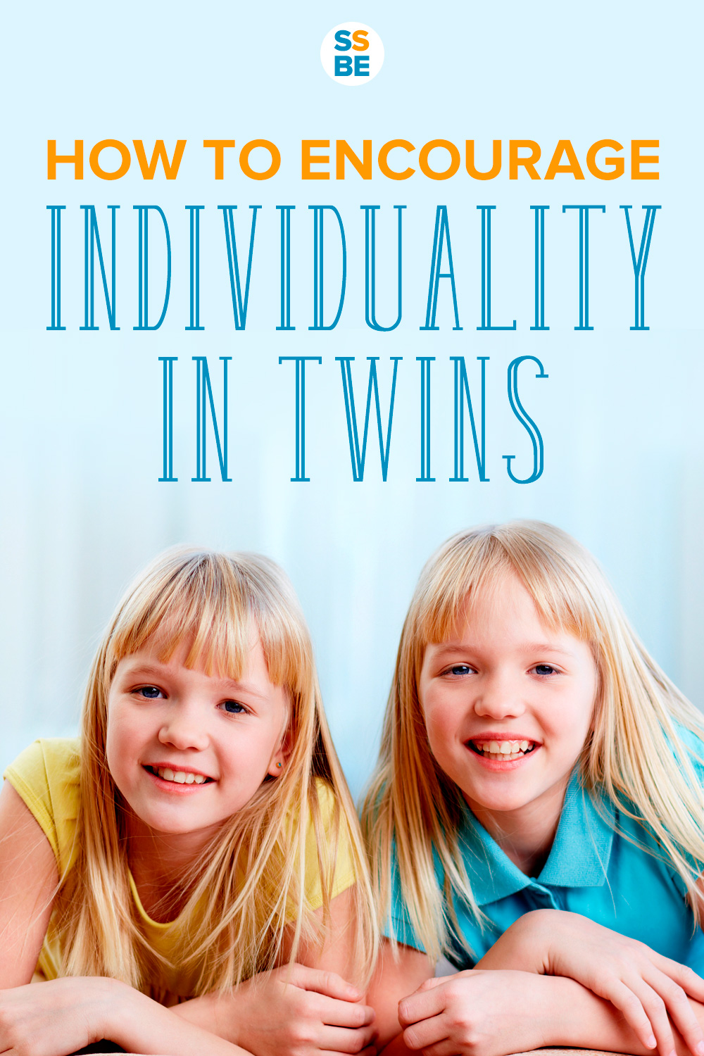 Worried that your twins are getting lumped in together too much? Encourage individuality in twins to develop their unique personalities and interests.