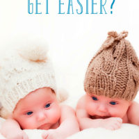 When Do Twins Get Easier?