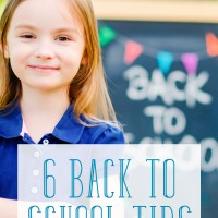 Getting ready to go back to school? Read these 6 useful back to school ideas for parents for a smooth transition this school year.