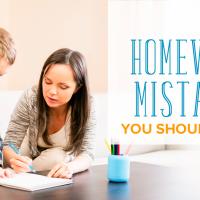 Homework Mistakes You Should Definitely Avoid