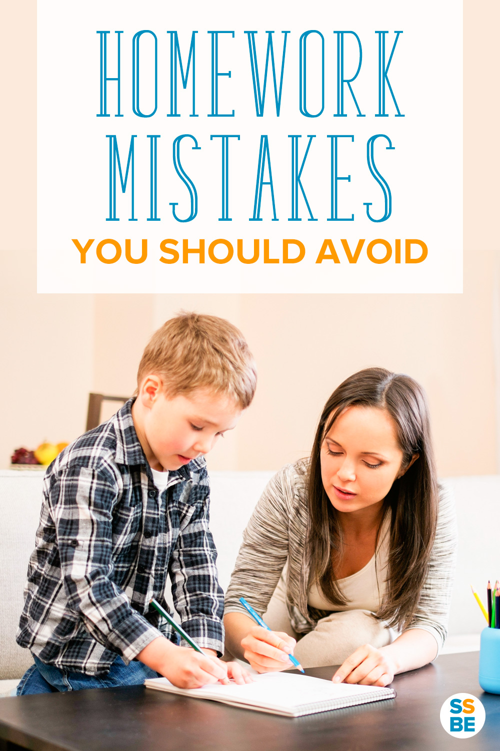 Helping kids with homework? These are the homework mistakes you should avoid! Learn what to do instead to get the most out of homework time with your child.