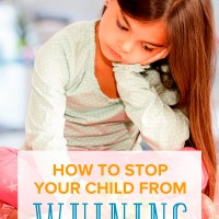 How to Stop Your Child from Whining and Speak Politely Instead