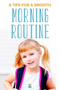Getting out the house to go to school can be a challenge for many parents. Read these 6 tips to make for a smooth morning routine for school.
