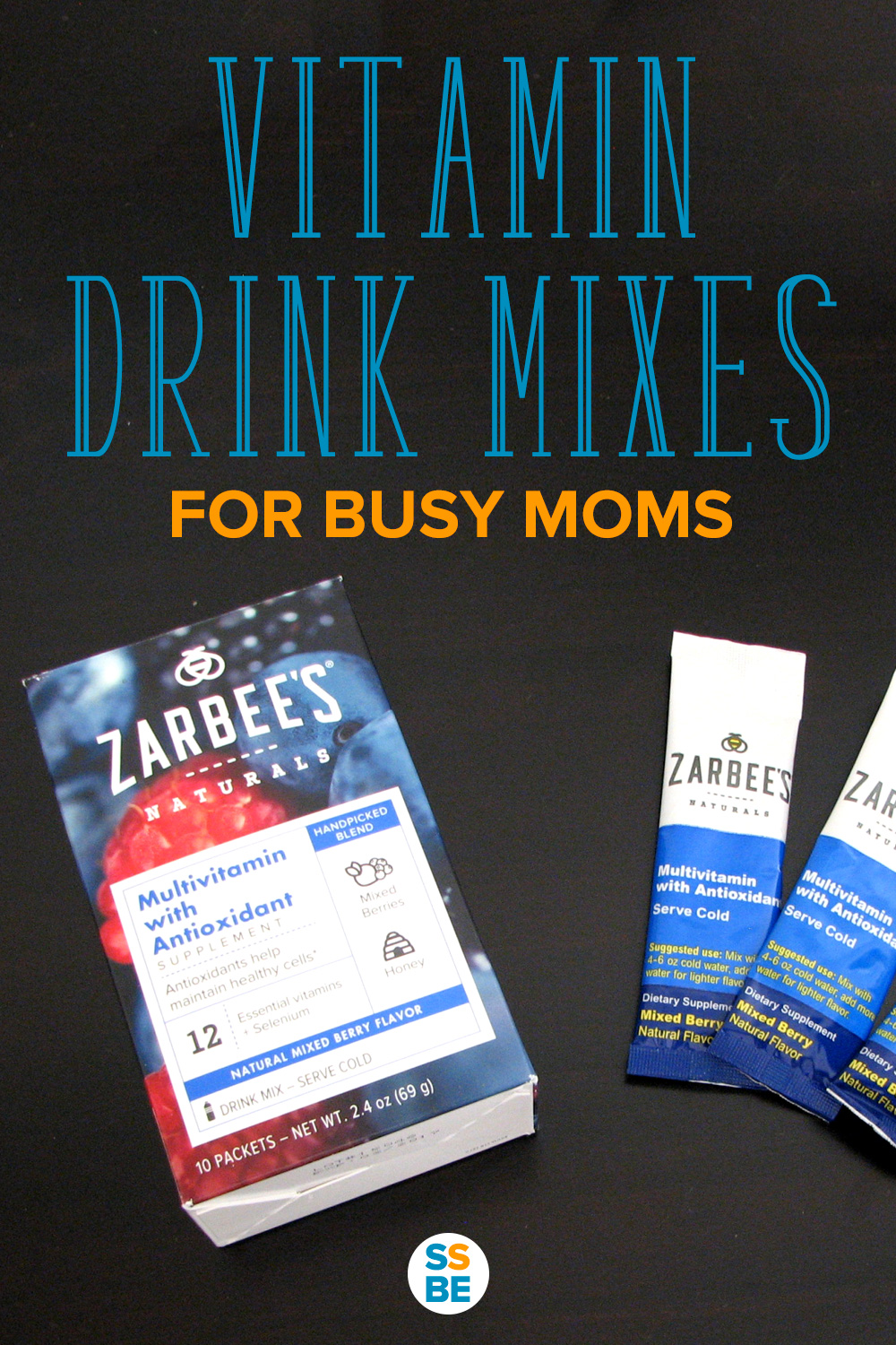 Vitamin Drink Mixes for Busy Moms
