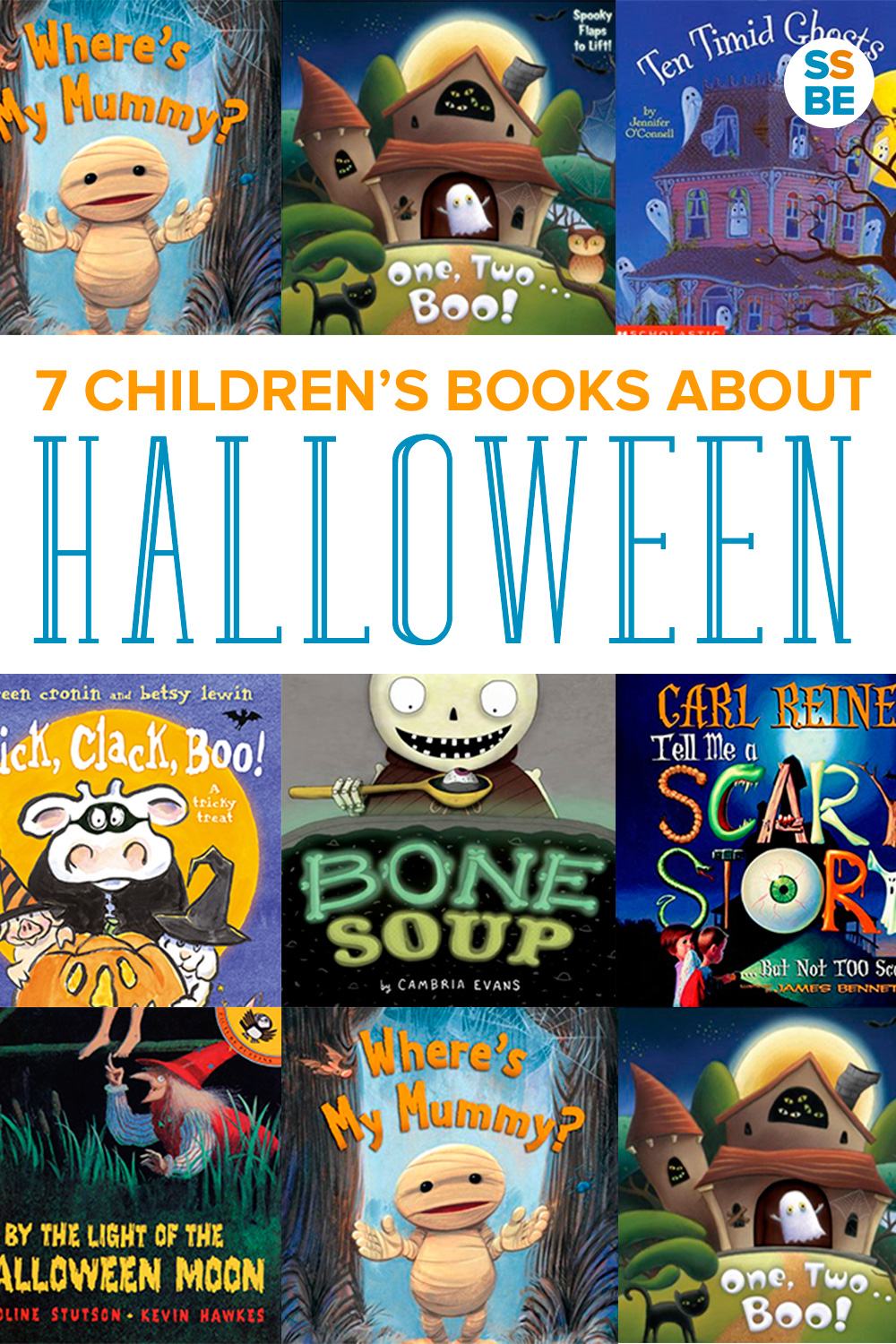 Get ready for fun with these Halloween books for kids. Read these books on mummies, ghosts and pumpkins as you head into our spookiest season!