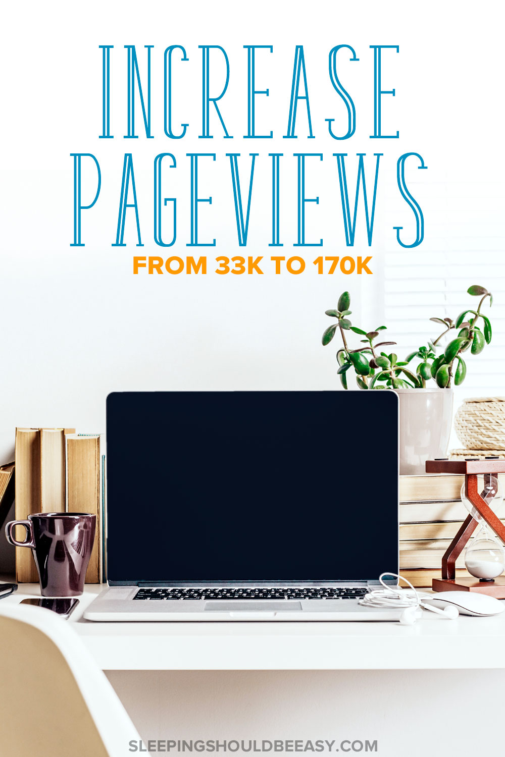Learn about the course I took that increased pageviews for my blog from 30,000 a month to over 170,000 in less than a year.