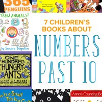 7 Children's Books about Numbers Past 10