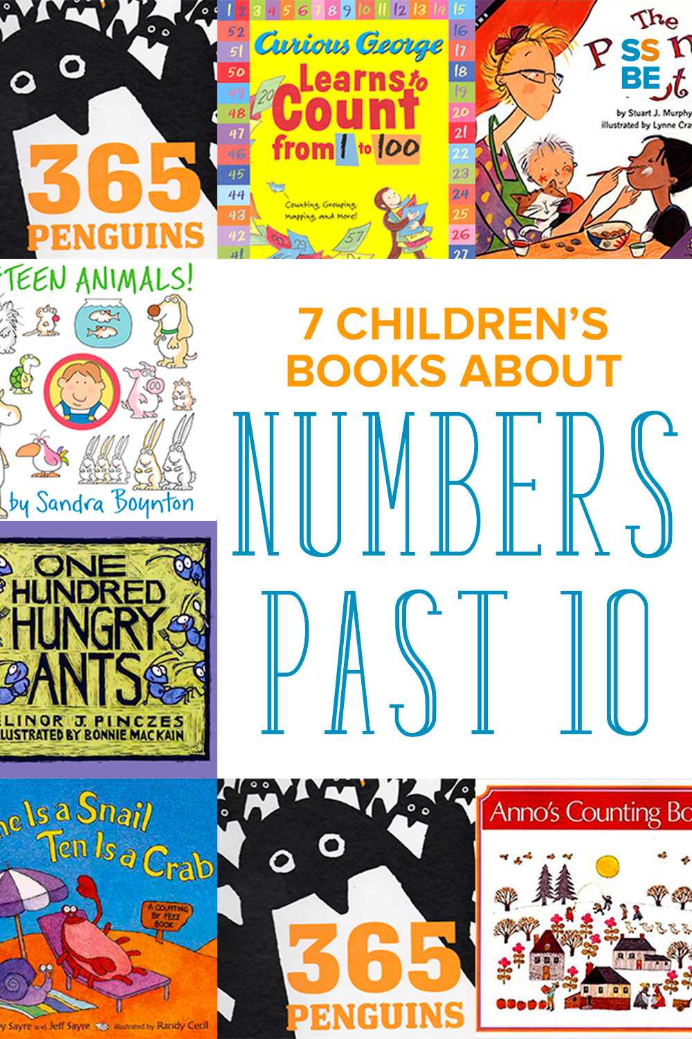 Is your child ready to count to number past 10? These 7 fun children's books about numbers can help your child count to more than 10.