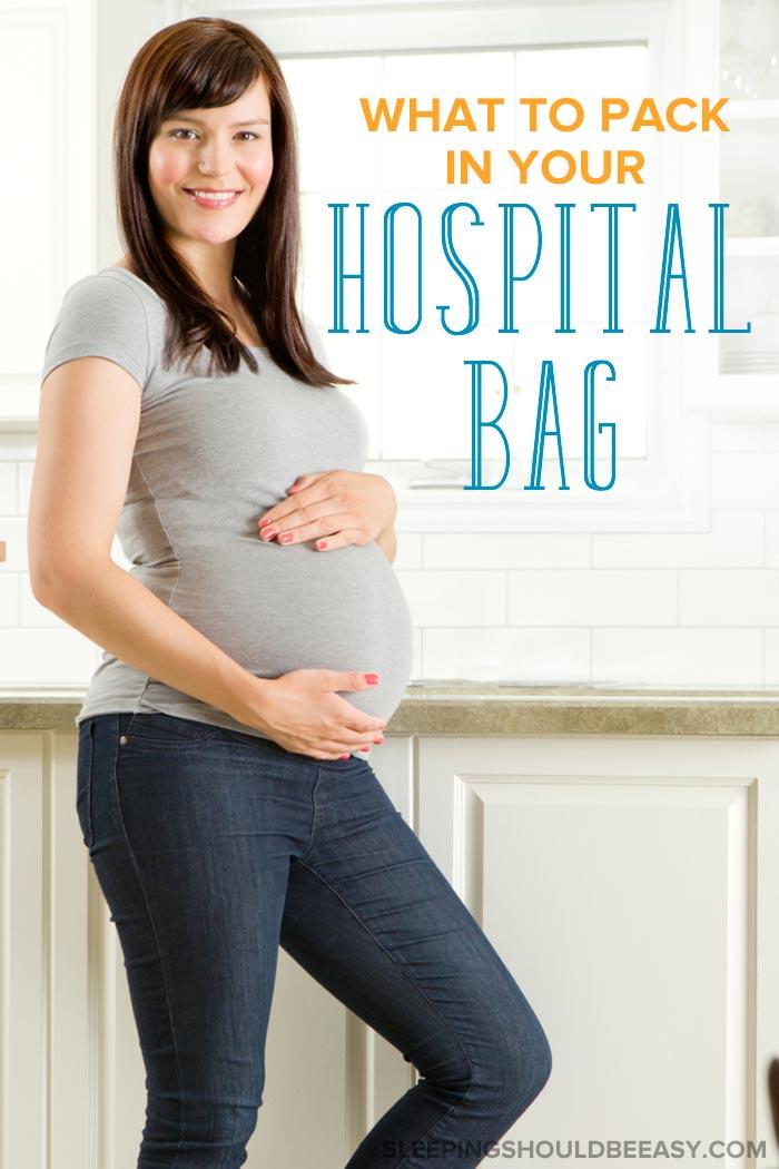 Pregnant woman: Hospital bag essentials