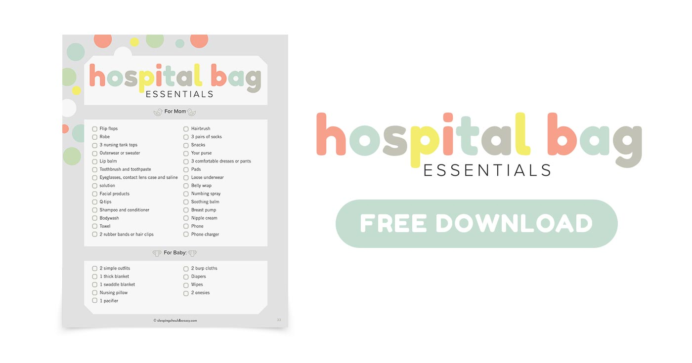 Free download of hospital bag essentials