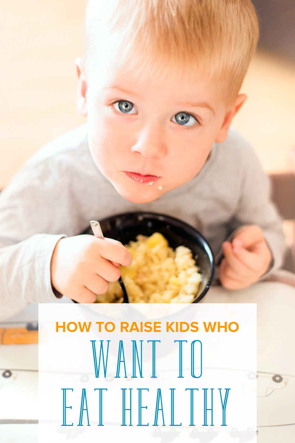 Looking for ways to encourage your children not only to eat healthy but WANT to? Check out how to raise kids who want to eat healthy.