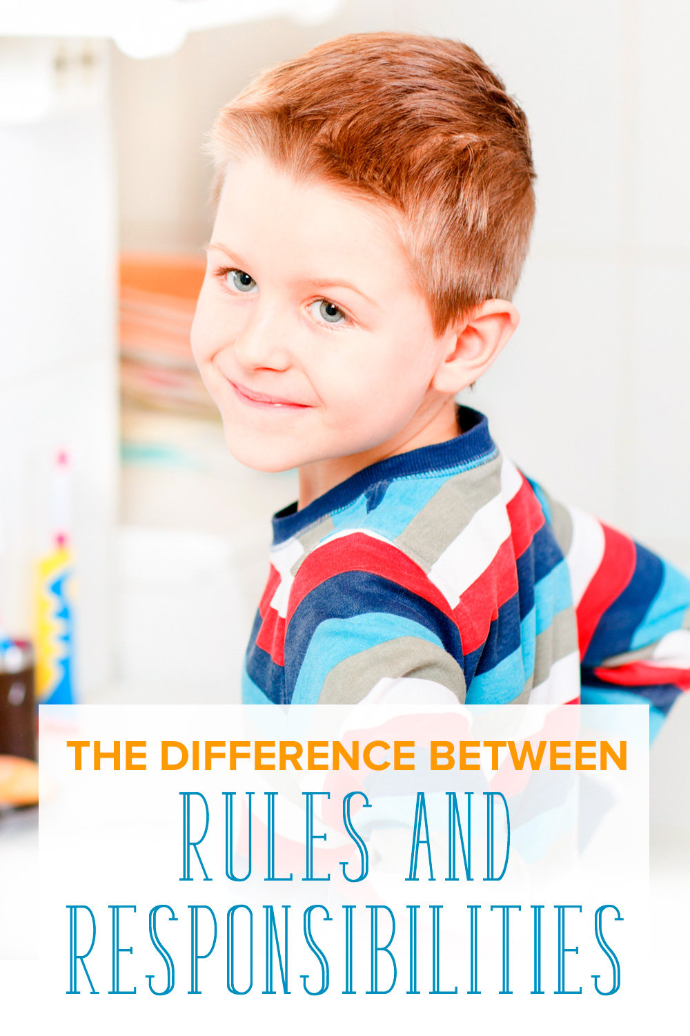 Responsibilities are an more effective way to teach ownership and accountability. Learn the difference between rules and responsibilities for kids.