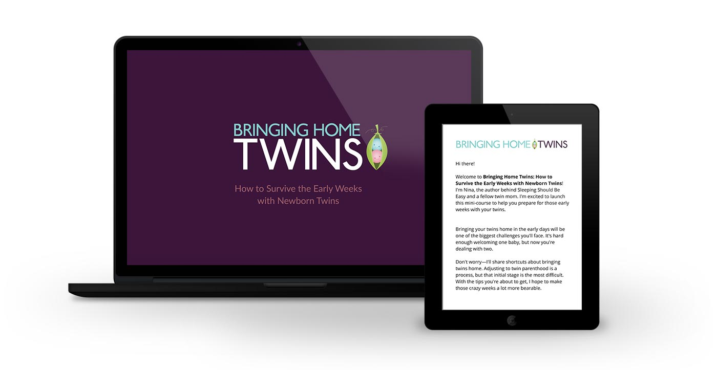 Free 5-day email course on bringing home twins