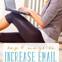 Top 9 Ways to Increase Email Subscribers
