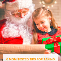 6 Mom-Tested Tips for Taking Santa Photos