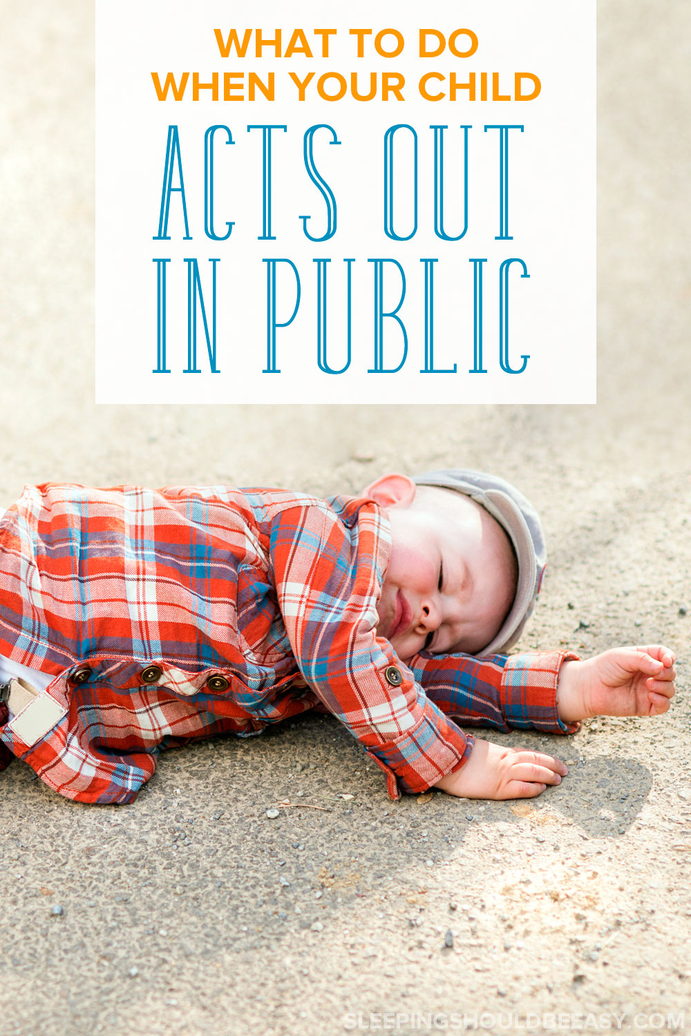 From family parties to restaurants, what do you do when your misbehaving child acts out in public? Learn how to best handle a tantrum in front of others.