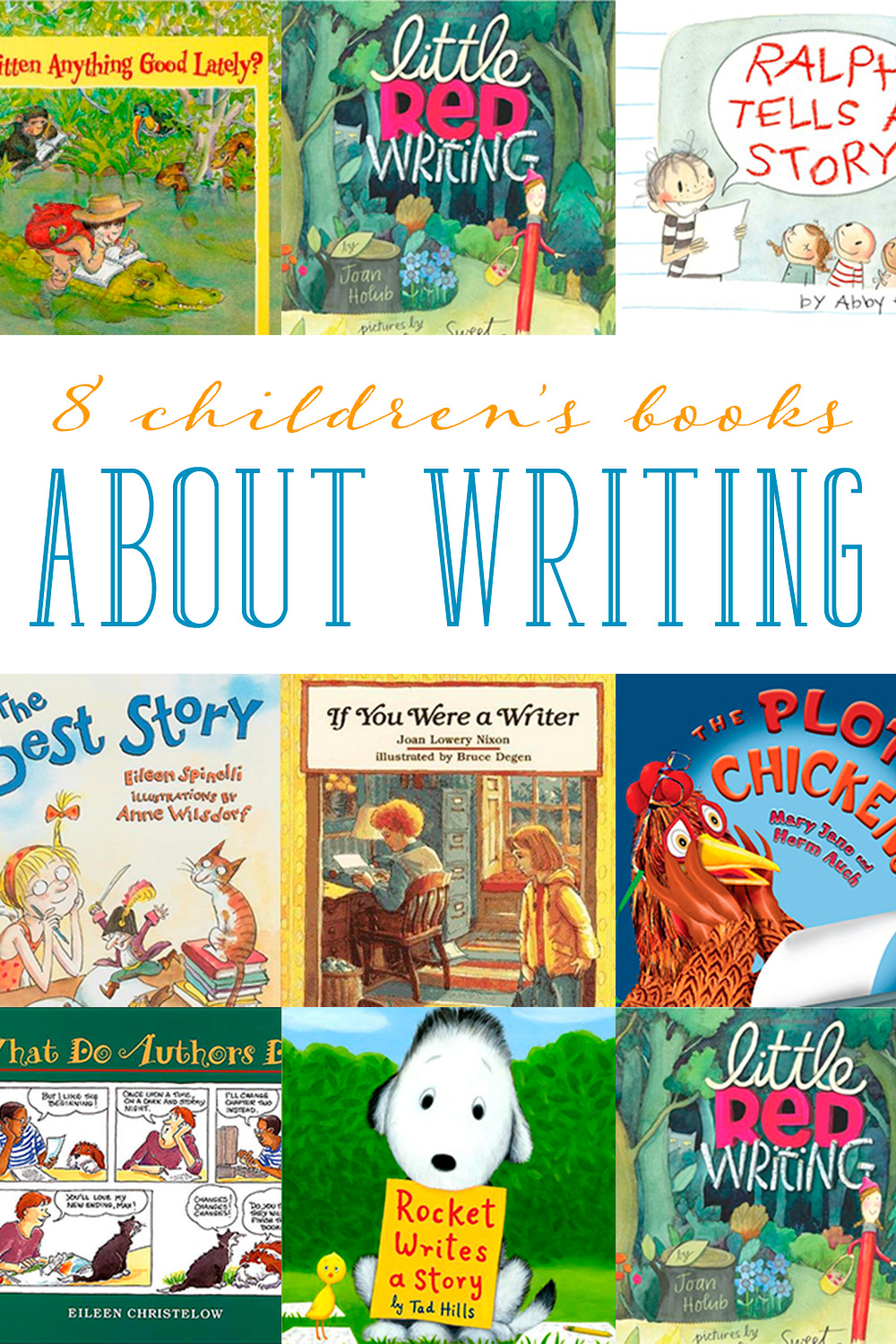 10 TIPS FOR WRITING CHILDREN'S PICTURE BOOKS
