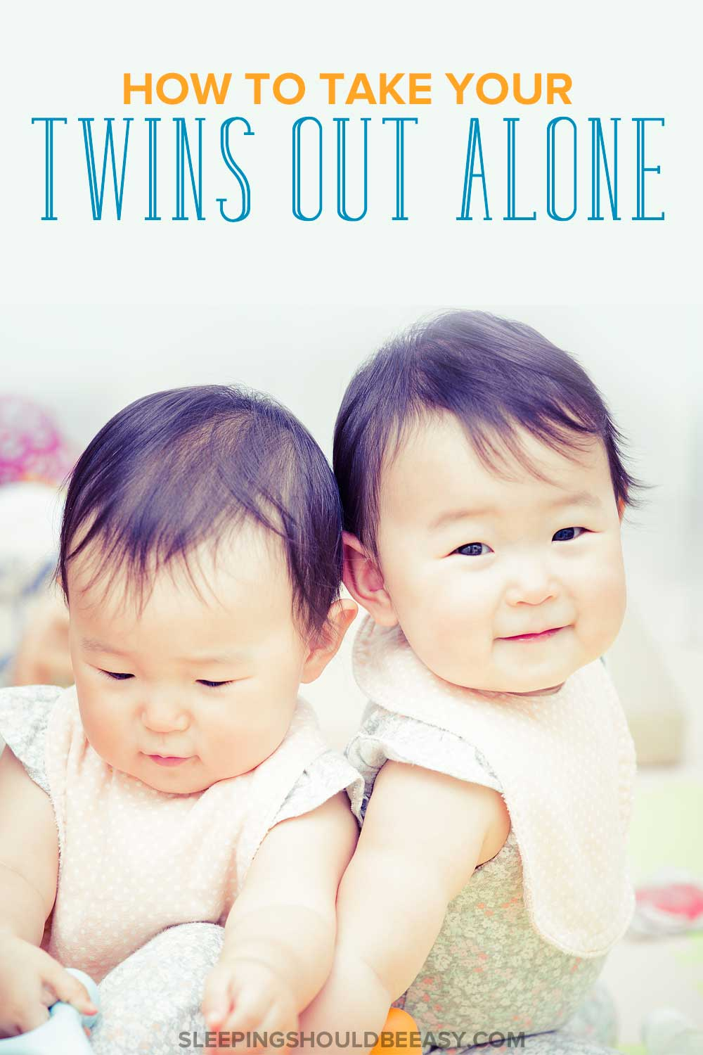 Twin babies: How to be out with twins alone
