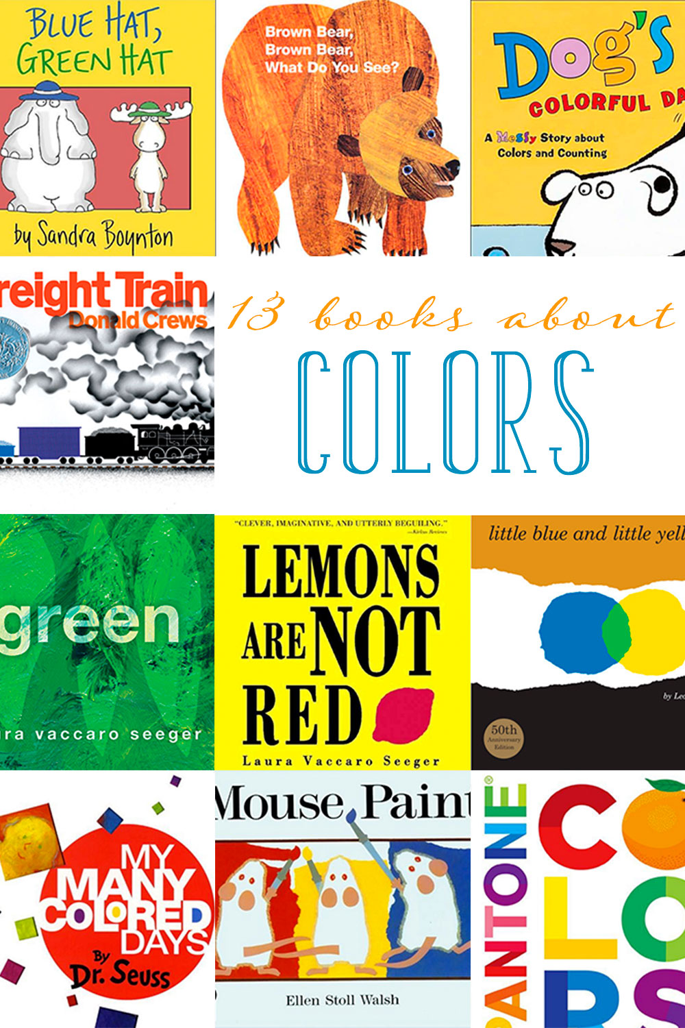 Children\'s Books about Colors: Top 13 Picks to Read with Your Child