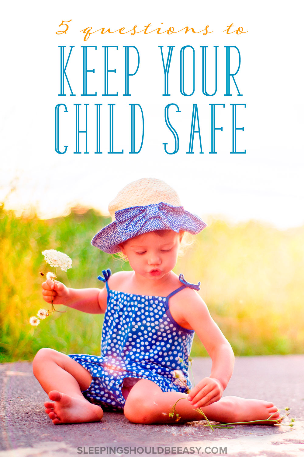 I was surprised when I gave my child a hypothetical question about his safety. Here are 5 questions to keep your child safe and review what she should do.