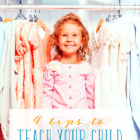 9 Simple Tips to Teach Your Child to Get Dressed