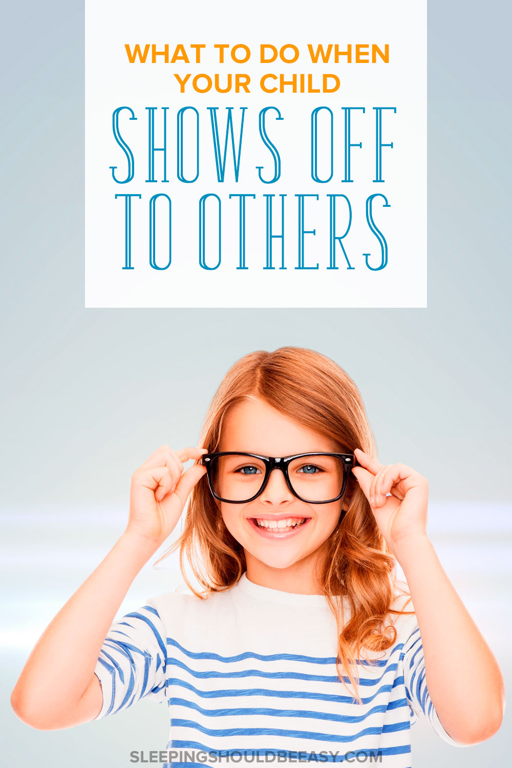 What do you do if your child shows off to others, whether on purpose or not? Here's how to handle social situations when kids end up showing off.