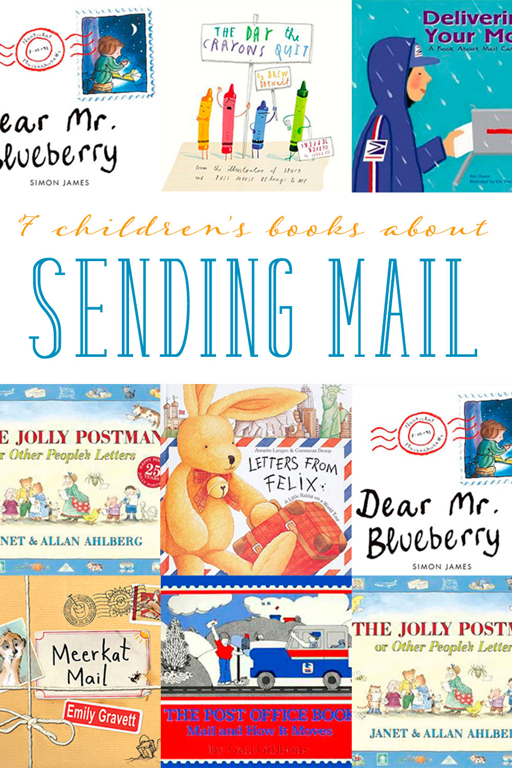 Children39s books about sending mail and letter writing for Children s books about writing letters