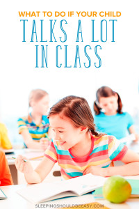 Gentle and effective tips to help your child stop talking in class too much. Encourage a healthy balance of participation with learning when to talk, listen and pay attention. A must-read for any parent struggling with children who talk out of turn in the classroom.
