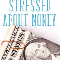 What You Need to Do when You're Stressed about Money