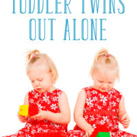 Simple Strategies to Take Toddler Twins Out Alone