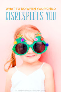 Tired of the disrespectful way your child talks back to you? Learn what to do when your child disrespects you and how to teach respect instead.