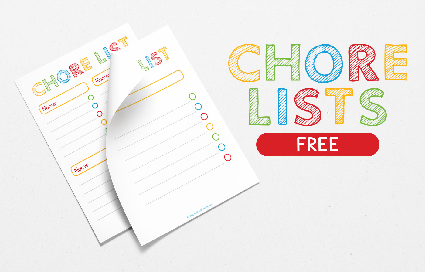 Free Chore Lists