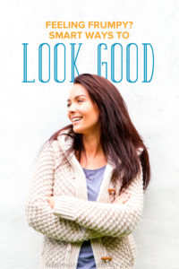Does motherhood make you feel frumpy? It's easy to let go and not take care of ourselves. Learn how to look good and feel your best as a mom.