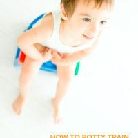 How to Potty Train Gradually