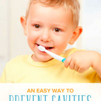 An Easy Way to Prevent Cavities in Baby Teeth