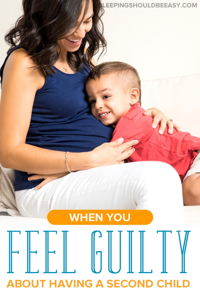 Overcoming The Second Child Guilt Sleeping Should Be Easy